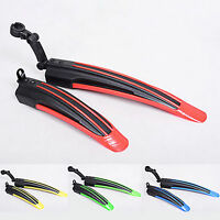 Bicycle Cycling Front & Rear Mud Guards Mud Set MTB Mountain Bike Tire Fenders