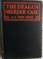 S S Van Dine THE DRAGON MURDER CASE 1st HB Golden Age Mystery