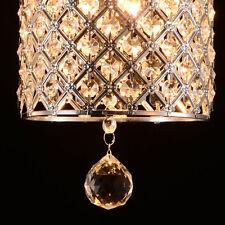 2017 Modern Mini Crystal Ceiling lighting Chandelier Light Lamp Pendant Fixture