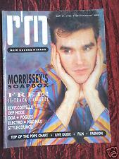RECORD MIRROR - MUSIC MAG -21 SEPT 1985 - POGUES - BLANCMANGE - MIDGE URE