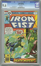 Iron Fist #6 NM+ CGC 9.6 W