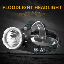 Profi XM-L L2 LED Digital Stirnlampe Arbeitslampe Taktisch Taschenlampe Strahler