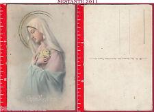 A46 SANTINO HOLY CARD CARTOLINA AR 76 ROSA MYSTICA MISTICA