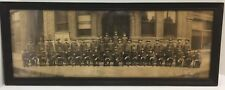 Original WWI Indiana State Militia 1918 Cirkut Photo Signed by Moorefield - RARE