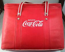 Borsa termica Coca-cola, anni '70, Renco Marwell (Milano). Originale