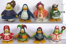 """Lot of 8 Club Penguin JAKKS 1.9"""" PVC FIGURES H"""