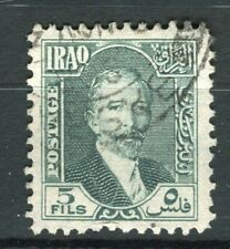 IRAQ; 1932 early King Faisal issue fine used 5f. value