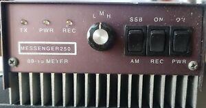 Messenger 250 CB Linear Amplifier 250 Watts depending on input wattage