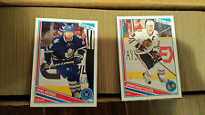 2013-14 OPC #1-500 BASE SET ONLY....NO SP'S CROSBY OVECKHIN ++ O-PEE-CHEE
