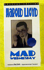 Mad Wednesday (Special Edition) ~ New Vhs Movie ~ 1950 Harold Lloyd Sealed Video