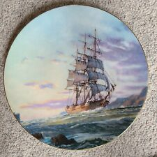 "1984 Royal Doulton - John Stobart ""Journey's End"" collectors plate"