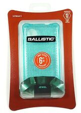 JW2913-A45C Ballistic LG/Google Nexus 5 Jewel Case (Glitter Topaz), Translucent