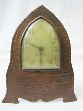 Antique New Haven Bronze Face Plate Case Clock.