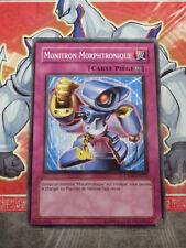 Carte YU GI OH MONITRON MORPHTRONIQUE CSOC-FR072 x 3