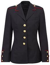 Army Jacket Original US Womens Marine Blazer Tailored Wool Mix Fancy Dress Coat