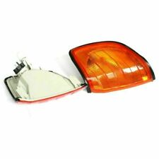 Pair Euro Style Amber Corner Signal Light for 92-98 Mercedes Benz S Class W140