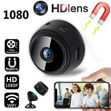 1080P Wireless WiFi Mini Magnetic IP Camera CCTV Security Cam Spy Night Vision