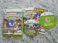 Sega Superstars Tennis / Xbox Live Arcade (Xbox 360) 2 Discs set – Free Shipping