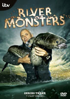 River Monsters: Series 3 DVD (2013) Lisa Bosak Lucas cert E ***NEW***