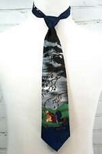 Gary Patterson The Far Side Fishing Humor Mens Neck Tie -  Balancine Hot Cakes