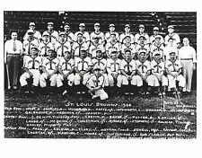1944 ST. LOUIS BROWNS 8X10 TEAM PHOTO BASEBALL MLB PICTURE