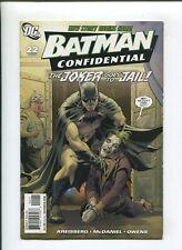 BATMAN CONFIDENTIAL #22 (NM-) THE JOKER GOES TO JAIL 2008