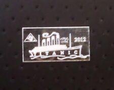 ACB TITANIC 999 Silver 1 Gram Limited edition 100 year Anniversary Bullion Bar $