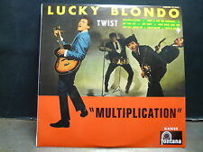 "LUCKY BLONDO Multiplication 077244-0 Réédition 25 cms 10"" TWIST"