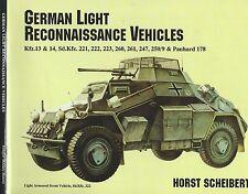 German Light Reconnaissance Vehicles: Sd.Kfz. 221, 222, 223, 260 & Panhard 178