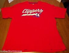 USED - NBA - LA CLIPPERS - RED TSHIRT - ADIDAS - MEN - LARGE