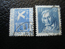 FRANCE - timbre - Yvert et Tellier n° 294 295 obl (A3) stamp french