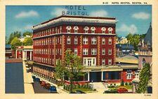 VINTAGE POSTCARD HOTEL BRISTOL  BRISTOL VIRGINIA VA