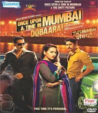 ONCE UPON A TIME IN MUMBAI DOBAARA (2013) AKSHAY, IMRAN ~ BOLLYWOOD DVD