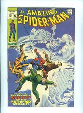 THE AMAZING SPIDERMAN 74 (1969) STAN LEE JOHN ROMITA SILVERMANE MARKO