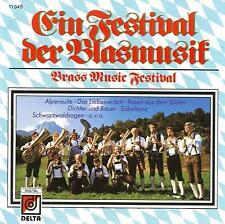 BRASS MUSIC FESTIVAL import CD Blasmusik 1986
