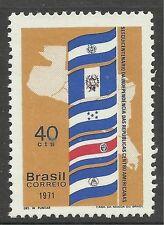 BRAZIL. 1971.  Central American Republics Commemorative. SG: 1328. Unused.