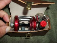 ABU Garcia Ambassadeur 6000 Bait-Casting Reel with Case & Spare Parts