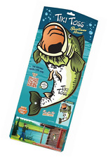 Tiki Toss Hook and Ring Game, Bass