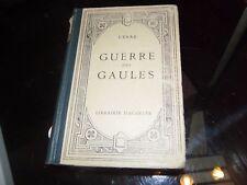 Guerre des Gaules. César