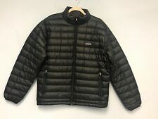 Patagonia Men Down Sweater Puffer Jacket Black Lightweight RN 51884 Size M