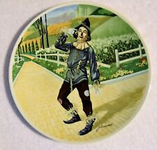 """1977 Knowles 8"""" """"If I only had a Brain"""" 2nd Wizard of Oz Limited Edition Plate"""