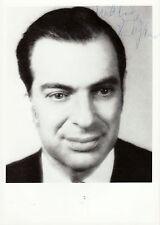 Kenneth Arrow Originalautogramm auf Foto - Nobel Prize WiWi 72
