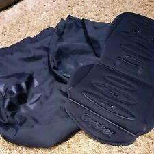 Babystyle Oyster Pushchair Seat Apron Cover, seat cover and Oyster Bag - Black