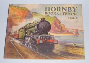 HORNBY BOOK OF TRAINS 1938-1939 O GAUGE CATALOGUE ORIGINAL FANTASTIC CONDITION
