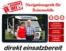 7 Zoll Navigationsgerät für Wohnmobile als Geschenk - GPS - Navi