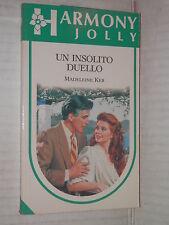 UN INSOLITO DUELLO Madeleine Ker Harlequin Mondadori 1992 Harmony jolly JS 40