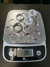 New listing Hard drive platter spacers many uses in crafts and mechanics metal and clean