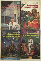 12 x Vintage Astounding Science Fiction Magazines 1958 - Full Year