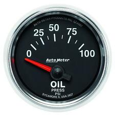 UNIVERSIAL DODGE FORD CHEVY AUTO METER  3827 GS SERIES OIL PRESSURE GAUGE..