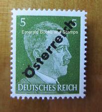 EBS Austria Österreich 1945 Hitler Provisionals (Hitler Obliterated) 660 MNH**